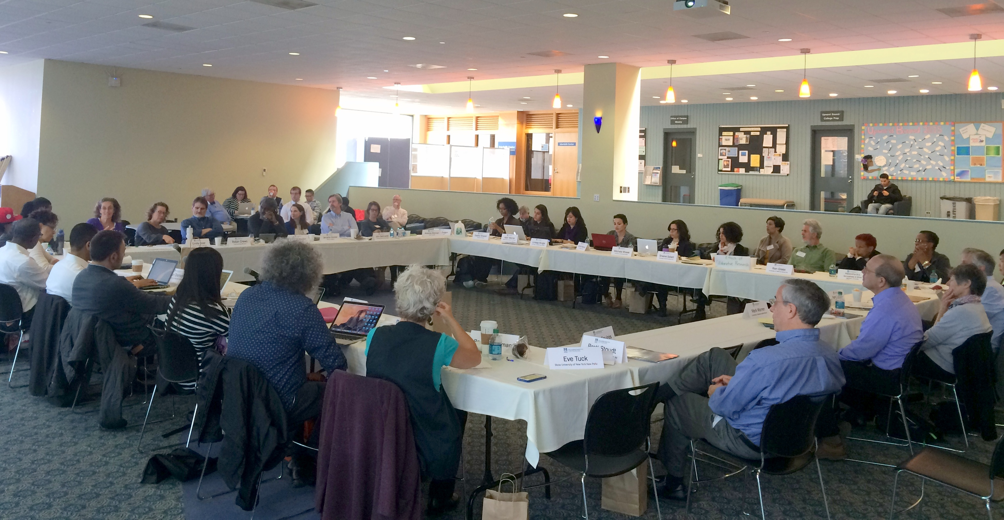 McCormack Graduate School hosted a two-day working conference on