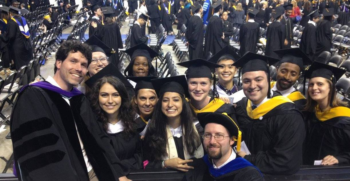 McCormack graduates at Commencement 2015