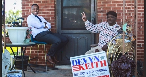 Devyn Keith wins first election