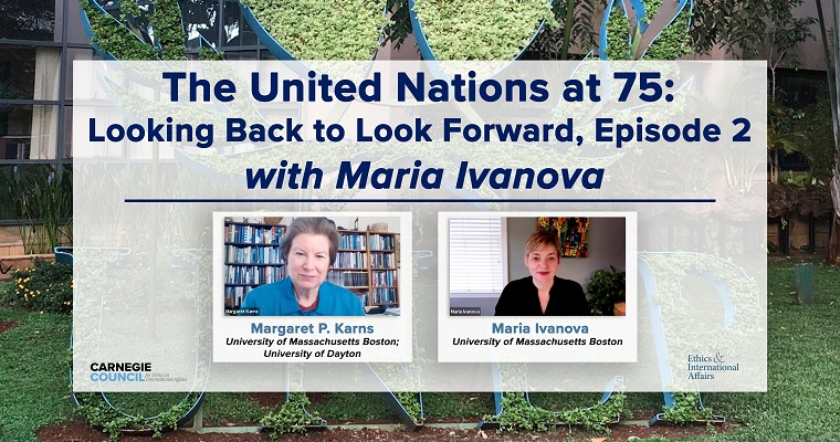 Global Governance and Human Security Program on the UN75 Stage