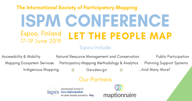 UMass Boston Doctoral Candidate Co-founds the International Society for Participatory Mapping