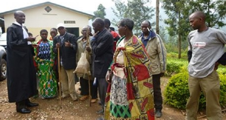 Rwandan residents learn that they have won compensation for an illegal land seizure due to the efforts of a lawyer hired by The Legal Aid Forum in Rwanda, who will be partnering with UMass Boston on the Rwanda Administrative Justice Project.