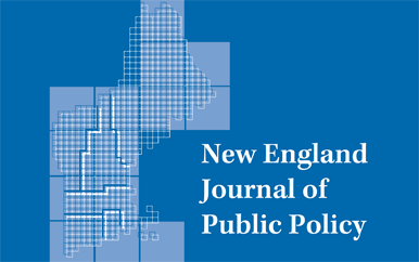 Cover of New England Journal of Public Policy