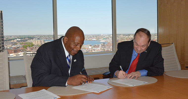 AIM, UMass Boston Establish Scholarship Fund for Management Students