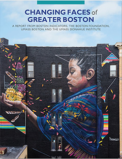 Report Cover for Changing Faces of Greater Boston