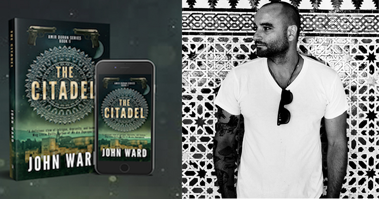 "UMass Boston Alum John Ward Publishes First Novel, ""The Citadel"""