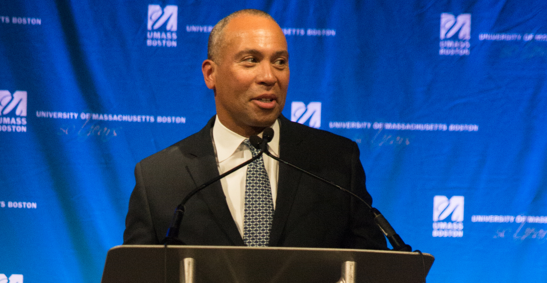 UMass Boston Honors Deval Patrick, Introduces Just Imagine Campaign at Golden Gala