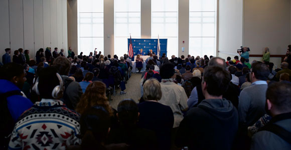 Sen. Elizabeth Warren Co-Hosts College Affordability Forum at UMass Boston
