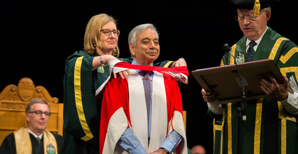 UMass Boston Biology Professor Honored at University of Alberta Convocation