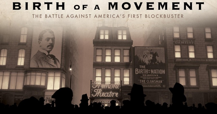 Graphic says Birth of a Movement: The Battle Against America's First Blockbuster