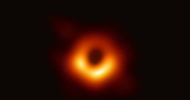 Joseph Farah was the only undergraduate member of the Event Horizon Telescope (EHT) Collaboration when this image of a black hole was taken.