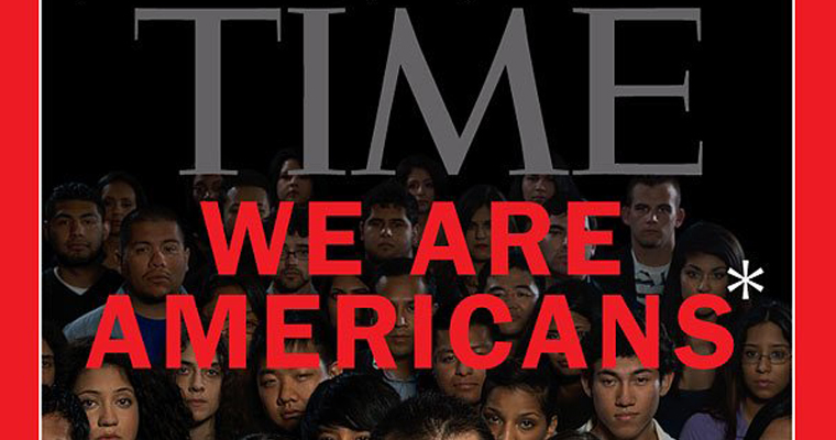 JFK Winner Daniela Bravo-Terkia is pictured on the cover of TIME, between the A and the R in