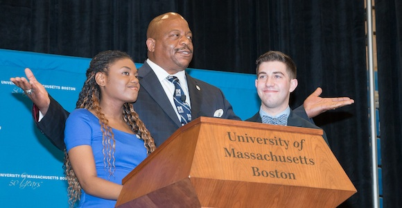 1,300 Attend Welcome Day for Accepted Students at UMass Boston