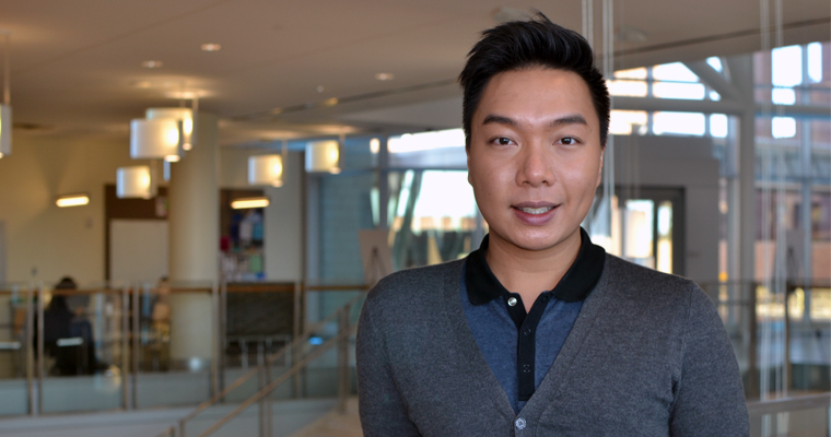 Christopher Chiu is dedicating his graduate career to addressing LGBTQ physical and mental health disparities.