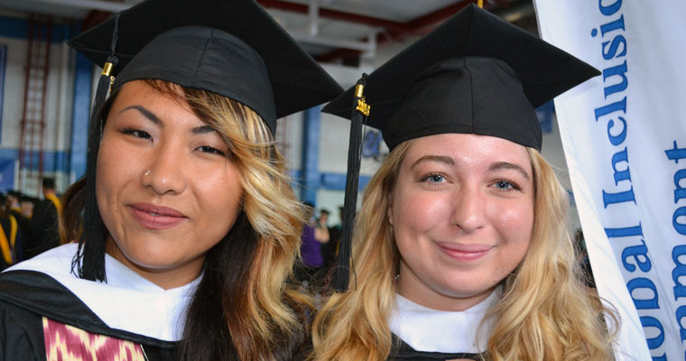 Inaugural Class of SGISD Master's Graduates Prepared to Create Inclusion Around the World