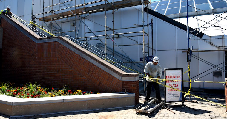Clark Exterior Stairs to Be Closed Through August