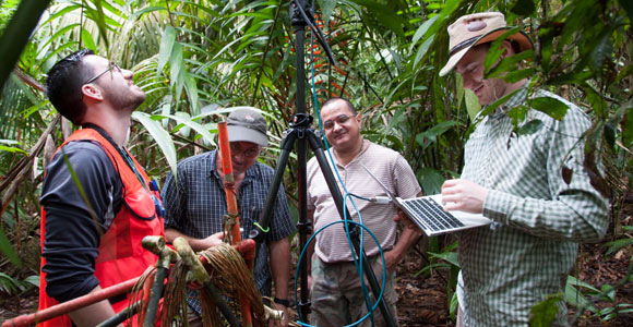 UMass Boston students went to Costa Rica for a NASA-led effort to make 3D reconstructions of dense tropical forests and complex mangroves.