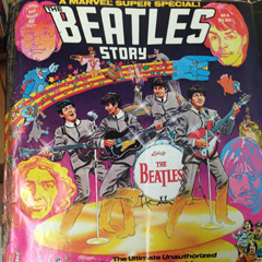 A Marvel comic with the Beatles on the cover is among the holdings of the Allan MacDougall Popular Culture Archive