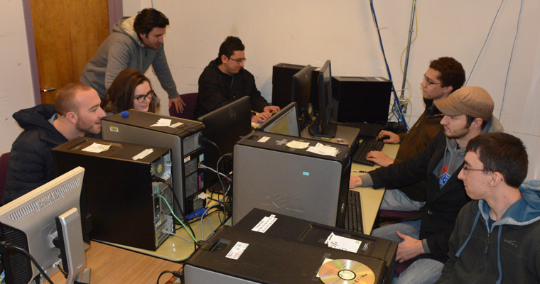 UMass Boston's team has gotten together every Friday since August to prepare for the National Collegiate Cyber Defense Competition.