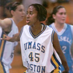 Andreen Gilpin '04 was inducted into the New England Basketball Hall of Fame on August 8, 2015.