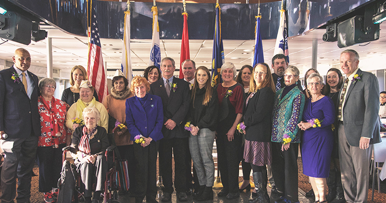 Gold Star families on the Celebration of Service Veterans Cruise