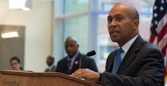 Governor Patrick Celebrates New Integrated Sciences Complex at UMass Boston
