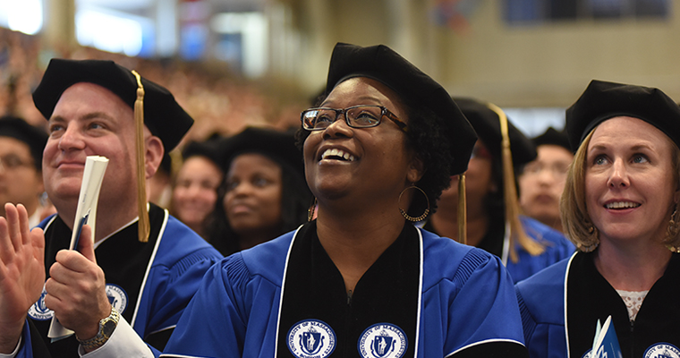 Two Days of UMass Boston Commencement Celebrations Begin With Grad Ceremony