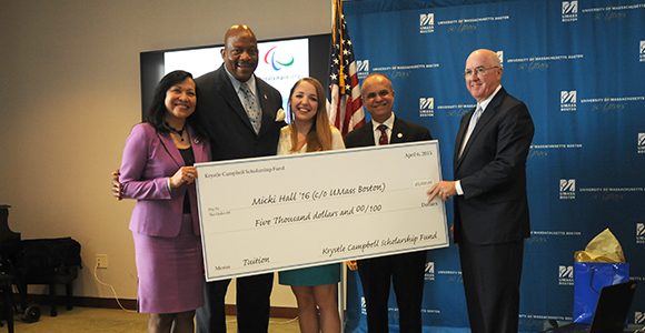 Krystle Campbell Scholarships Awarded to UMass Students
