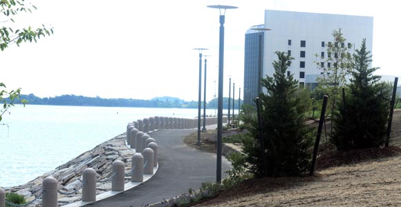 New Section of HarborWalk  Opens at UMass Boston