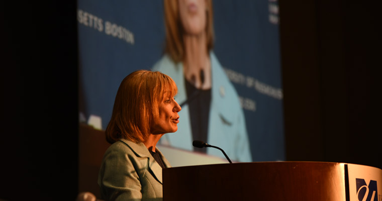 N.H. Governor Hassan in Wood Lecture: 'In Democracy, Everyone Counts'