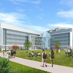 Rendering of the Integrated Sciences Complex