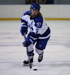 Women's hockey player Katie Jeter