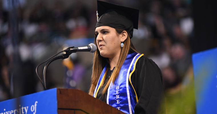 2017 JFK Award Winner Daniela Bravo-Terkia's Undergraduate Commencement Address