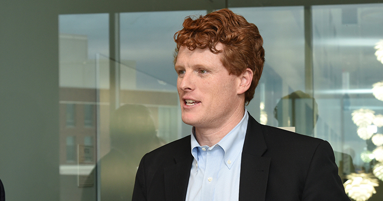 Representative Joe Kennedy