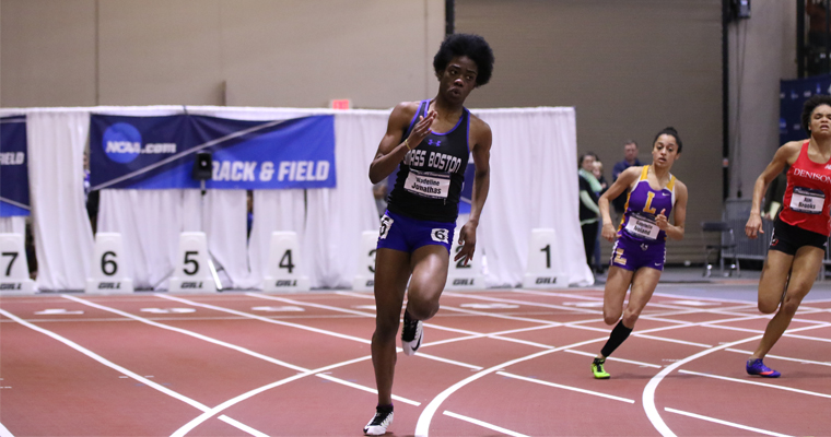UMass Boston Freshman Runs Away with National Title