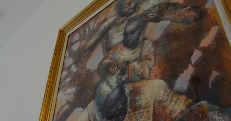 """Links and Lineage"" Painting Now on Display at University Hall"