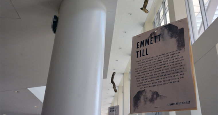 Black Student Center's Lynching Exhibit in Campus Center Through March 24