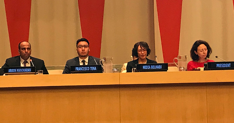 McCormack Professor Calls for Greater Connectivity Infrastructure During Panel at UN Headquarters