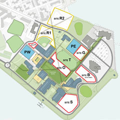 Image showing UMass Boston's 25-year master plan