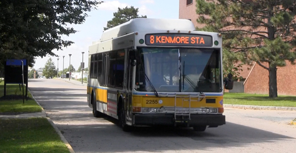 MBTA Bus Stop Relocated, Short-term Lot to Close
