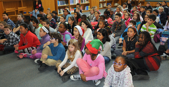 Students at John J. McGlynn Elementary School