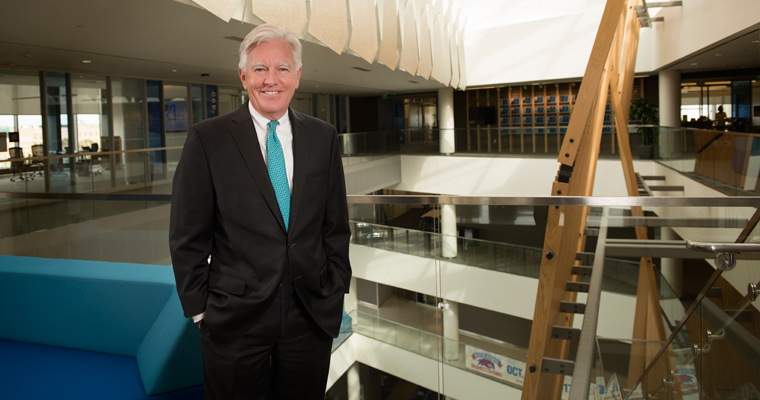 Meehan Reaffirms Commitment to Affordability in State of the University Address