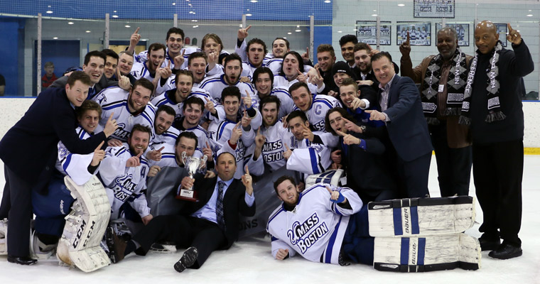 2016 Men's hockey championship team