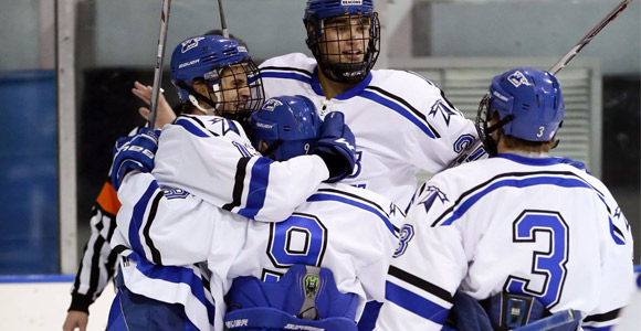 No. 5 Men's Hockey Sees Highest-Ever Ranking in Two National Polls