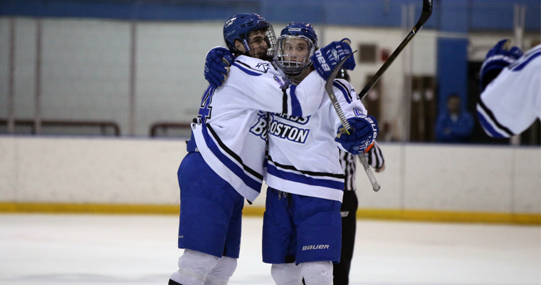 UMass Boston Hockey and Basketball Teams Advance in Conference Playoffs