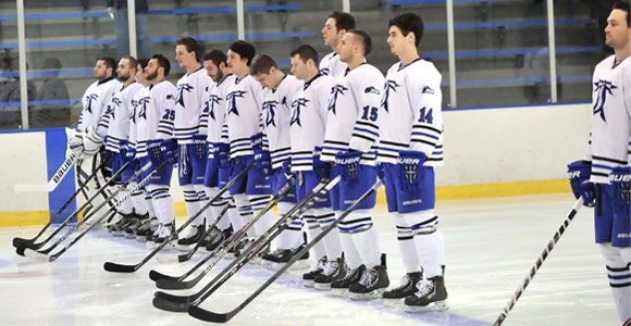 Men's Hockey Team Sets Program Record With No. 5 Ranking in National Poll