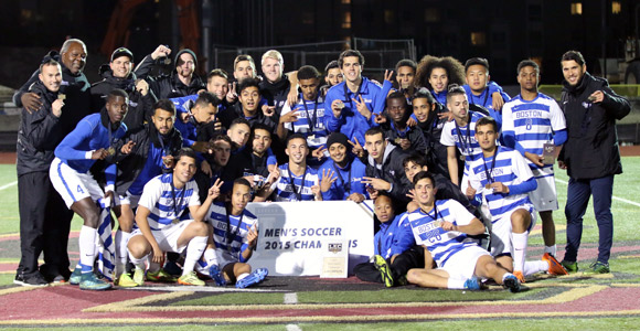 2015 Little East Conference champion men's soccer team