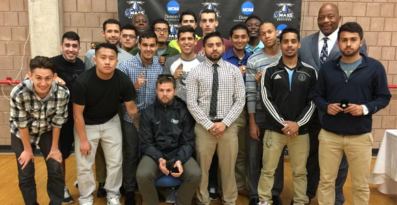 The 2014 men's soccer team