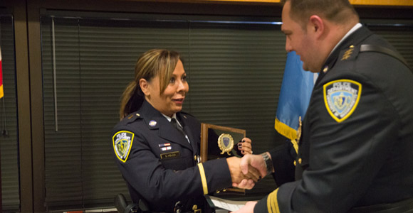 Eight UMass Boston Public Safety Officers Honored for Going Beyond Call of Duty