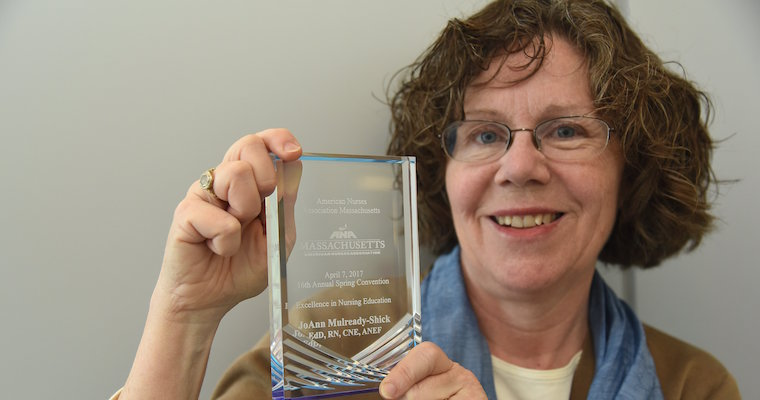 UMass Boston Prof Wins Excellence in Nursing Education Award